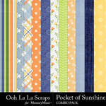 Pocket of sunshine kit papers small