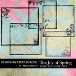 The Joy of Spring Edgers Pack-$5.99 (Laura Burger)