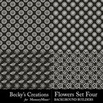 Flowers Overlays Set 4-$3.99 (Becky's Creations)