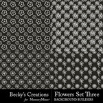 Flowers Overlays Set 3-$3.99 (Becky's Creations)