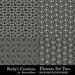 Flowers Overlays Set 2-$3.99 (Becky's Creations)