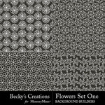 Flowers Overlays Set 1-$3.99 (Becky's Creations)