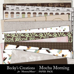 Mocha morning papers small