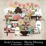 Mocha Morning Combo Pack-$3.50 (Becky's Creations)