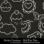 Kid Fun 2 Embellishment Pack-$2.80 (Becky's Creations)