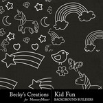 Kid Fun 1 Embellishment Pack-$2.80 (Becky's Creations)