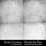 Floral Overlays Set 2-$2.80 (Becky's Creations)
