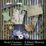 A Sweet Memory Combo Pack-$3.50 (Becky's Creations)