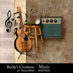Music Mini Pack-$2.99 (Becky's Creations)