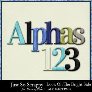 Look on the bright side alphabets medium