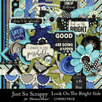 Look On The Bright Side Combo Pack-$4.99 (Just So Scrappy)