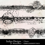 Charm Border Pack-$2.99 (Indigo Designs)