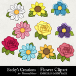Flower clipart small