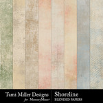 Shoreline TM Blended Paper Pack-$2.99 (Tami Miller)