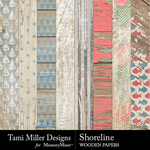 Shoreline TM Wooden Paper Pack-$2.99 (Tami Miller)
