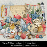 Shoreline TM Embellishment Pack-$3.99 (Tami Miller)
