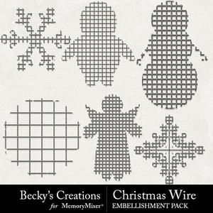 Christmas wire medium