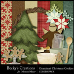 Grandmas Christmas Cookies Combo Pack-$4.99 (Becky's Creations)