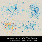 On The Beach Scatterz Pack-$2.49 (Lindsay Jane)