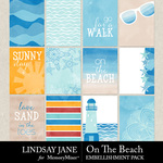 On The Beach Journal Cards Pack-$2.49 (Lindsay Jane)