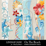 On The Beach Border Pack-$2.49 (Lindsay Jane)