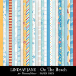 On The Beach Paper Pack-$2.10 (Lindsay Jane)