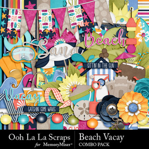 Beach vacay kit medium