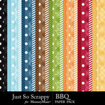 BBQ Pattern Paper Pack-$2.49 (Just So Scrappy)