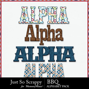 Bbq alphabets medium
