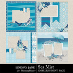 Sea Mist Quick Pages-$3.49 (Lindsay Jane)