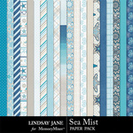 Sea Mist Paper Pack-$2.99 (Lindsay Jane)