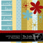 The Little Things January Mini Pack-$3.00 (Lasting Impressions)