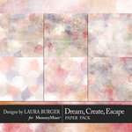 Dream Create Escape Paint Papers-$4.99 (Laura Burger)