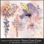 Dream Create Escape Scatters Pack-$4.99 (Laura Burger)