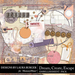 Dream Create Escape Add On Pack-$4.99 (Laura Burger)