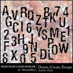 Dream Create Escape Alphabet Pack-$3.99 (Laura Burger)