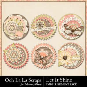 Let it shine cluster seals medium