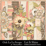 Let It Shine Page Borders Pack-$2.49 (Ooh La La Scraps)