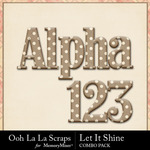 Let it shine kit alpha small