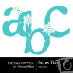 Snow Day Alphabet Pack-$1.00 (Melissa Nuttall)