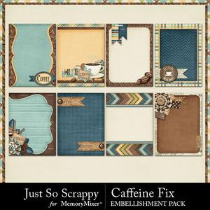 Caffeine fix journal cards medium