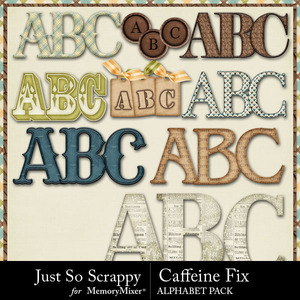Caffeine fix alphabets medium