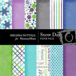 Snow Day Paper Pack-$3.50 (Melissa Nuttall)