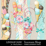Icecream Shop Border Pack-$2.49 (Lindsay Jane)