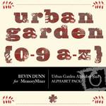 Urban Garden Alphabet Red-$1.00 (Bevin Dunn)