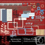 Urban garden embellishment pack small