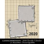 2020 Doodle Calendar-$5.99 (Lasting Impressions)