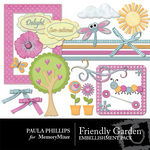 Friendly Garden Embellishment Pack-$2.99 (Paula Phillips)