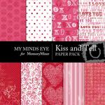 Kiss and Tell Paper Pack-$3.99 (My Minds Eye)