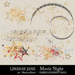 Movie Night LJ Scatterz Pack-$2.49 (Lindsay Jane)